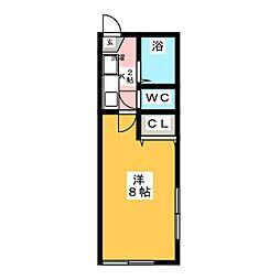 アーバンハイツセレーノ[1階]の間取り