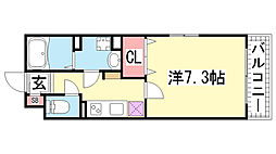 KTIレジデンス神戸元町[403号室]の間取り