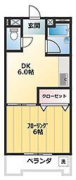 日の出ビル[5階]の間取り