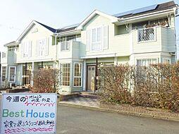 福岡県八女郡広川町大字一條の賃貸アパートの外観