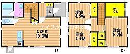 [一戸建] 岡山県岡山市北区伊島町3丁目 の賃貸【/】の間取り