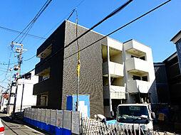 大阪府堺市北区中百舌鳥町4丁の賃貸アパートの外観
