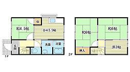 [一戸建] 兵庫県姫路市白浜町宇佐崎中3丁目 の賃貸【/】の間取り