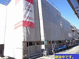 大阪府高槻市竹の内町の賃貸アパートの外観