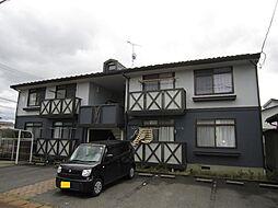 新潟県新発田市中央町5丁目の賃貸アパートの外観