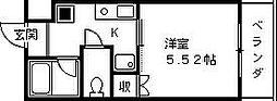 レジェンド西宮[405号室]の間取り