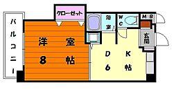 エトワール7[4階]の間取り