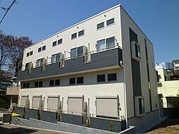 千葉県千葉市中央区亥鼻2丁目の賃貸アパートの外観