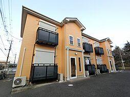 千葉県成田市中台6丁目の賃貸アパートの外観