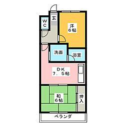 メゾン光栄[4階]の間取り