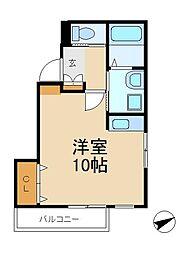 横尾ビル[3階]の間取り