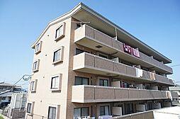 福岡県古賀市新久保1丁目の賃貸マンションの外観