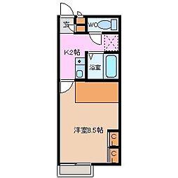 BUJIRO[105号室]の間取り