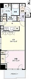 フェニックス笹塚駅前[1101号室]の間取り