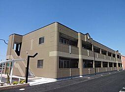 福岡県飯塚市秋松の賃貸アパートの外観