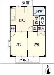 スウィートハイム[1階]の間取り