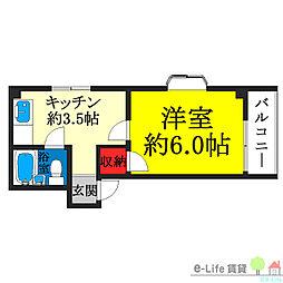 我孫子町駅 3.4万円