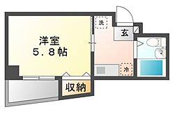 露橋ロイヤルハイツI[1階]の間取り