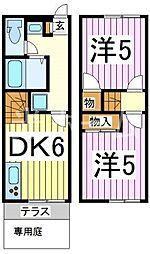 [テラスハウス] 埼玉県新座市西堀2丁目 の賃貸【/】の間取り