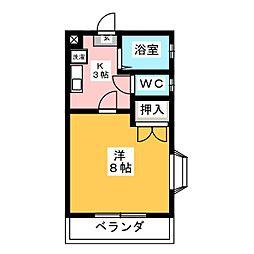 サンライズ井ヶ谷[1階]の間取り