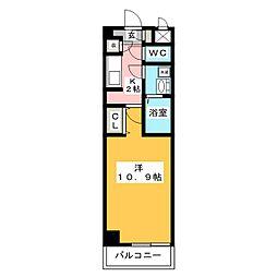 メリーファンタジー[3階]の間取り