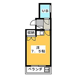 ユー・マブチ[3階]の間取り
