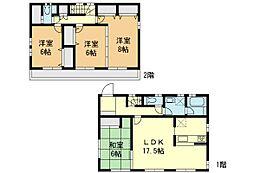 外観:4LDK、土地価格4280万円、土地面積122.02?、建物価格1600万円、建物面積105.99?