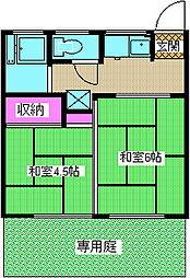 和行荘[1階]の間取り