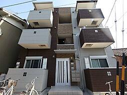 愛知県名古屋市南区笠寺町字姥子山の賃貸アパートの外観