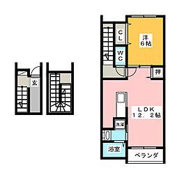 セレノ 2[3階]の間取り
