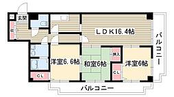 メゾン五反田[4階]の間取り
