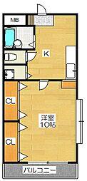 rise21[4階]の間取り