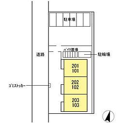 (仮称)D-roomたちばな台[202号室]の外観