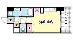 パシフィックレジデンス神戸八幡通[5階]の間取り