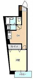第2西本ビル[2階]の間取り