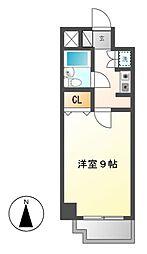 ラウムズ富士見町[3階]の間取り