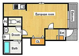 マインネスト[1階]の間取り