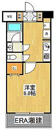 コフレ横浜星川[303号室]の間取り