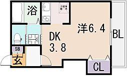 (仮称)東大阪市宝持3丁目[2階]の間取り