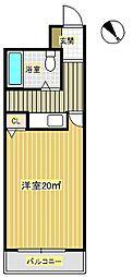 ユニハイツ2[1階]の間取り