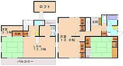 [一戸建] 福岡県福岡市南区鶴田3丁目 の賃貸【/】の間取り