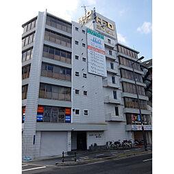 大阪府大阪市東住吉区桑津の賃貸マンションの外観