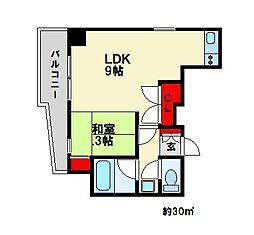 TSハイツ[5階]の間取り