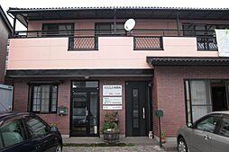 栃木県宇都宮市中今泉3丁目の賃貸アパートの外観