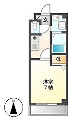 サンシャイン白菊[1階]の間取り