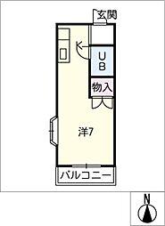 プレジャーハイツ[2階]の間取り