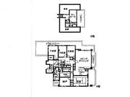 メゾンプラヴァ[4階]の間取り