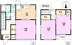 [一戸建] 長野県長野市大字徳間 の賃貸【/】の間取り