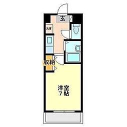 スライビング冷泉[2階]の間取り