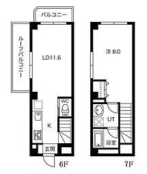 小石川テラス[6階]の間取り